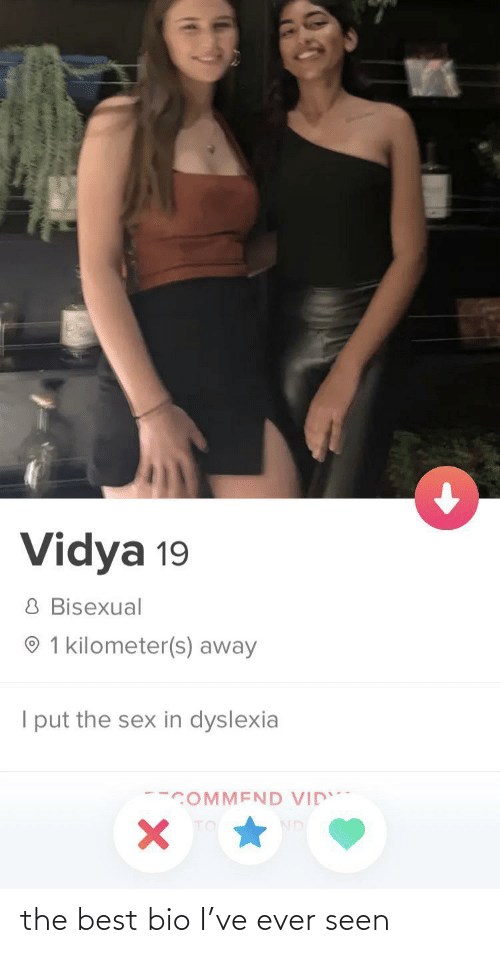 Best: the best bio I've ever seen