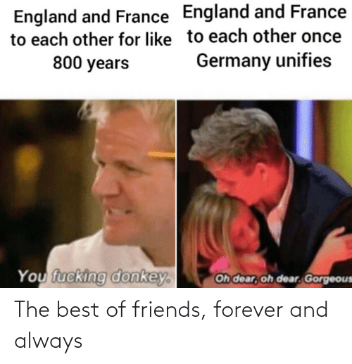 Forever: The best of friends, forever and always