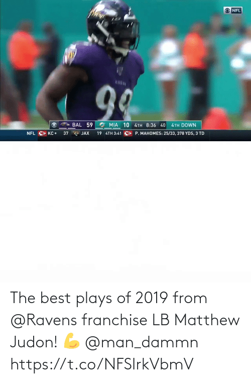 the best: The best plays of 2019 from @Ravens franchise LB Matthew Judon! 💪 @man_dammn https://t.co/NFSIrkVbmV