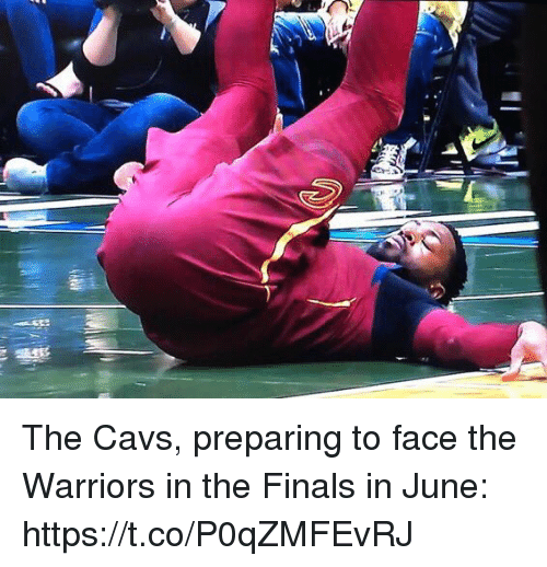 in-the-finals: The Cavs, preparing to face the Warriors in the Finals in June: https://t.co/P0qZMFEvRJ