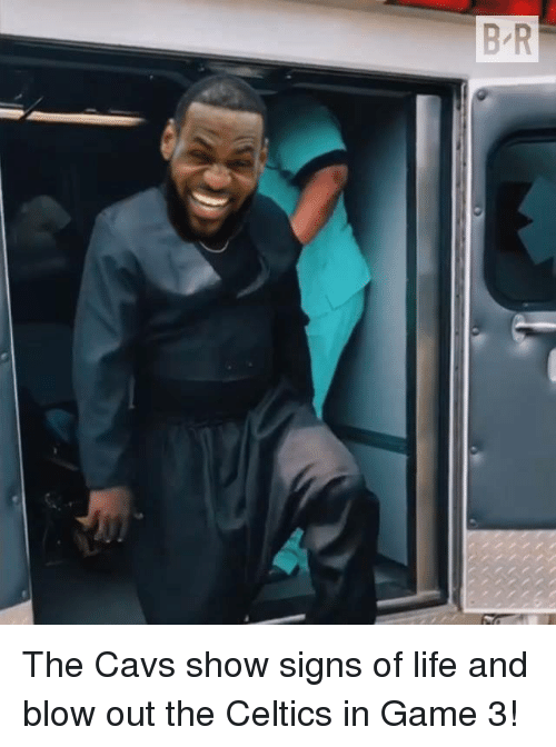 Cavs, Life, and Celtics: The Cavs show signs of life and blow out the Celtics in Game 3!