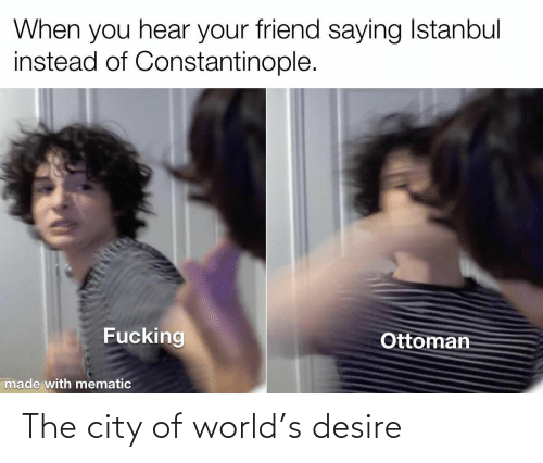 the city: The city of world's desire