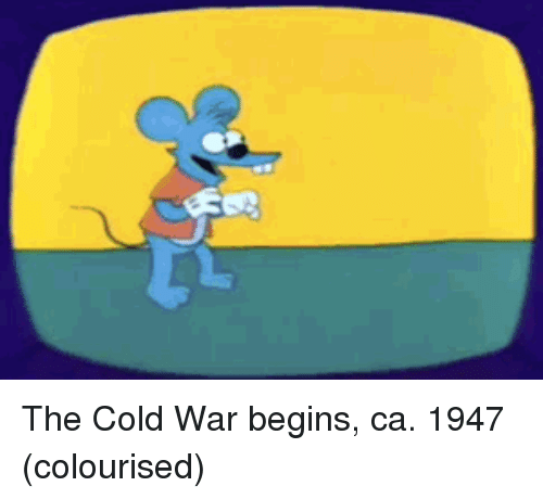 Cold War: The Cold War begins, ca. 1947 (colourised)