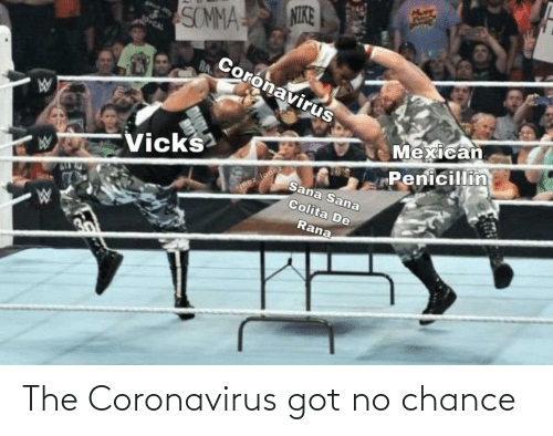 no: The Coronavirus got no chance