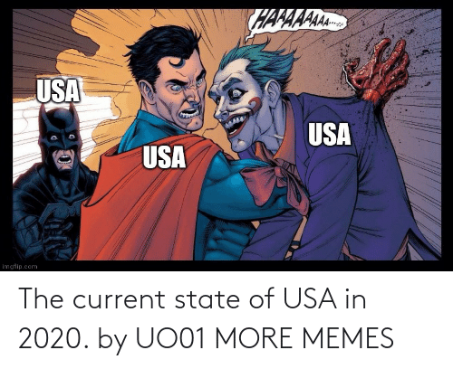 state: The current state of USA in 2020. by UO01 MORE MEMES