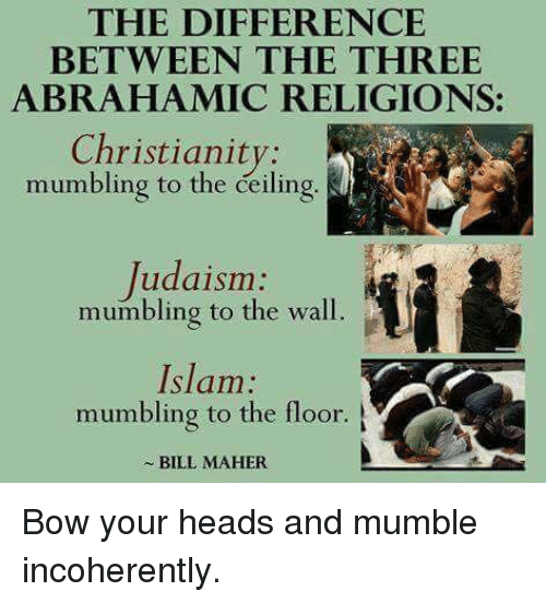the difference between christianity and islam Christianity and islam are the two largest religions in the world and share a historical and traditional connection, with some major theological differences the two faiths share a common place of origin in the middle east, and consider themselves to be monotheistic.