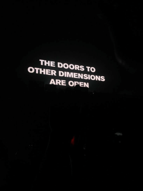 the doors: THE DOORS TO  OTHER DIMENSIONS  ARE OPEN