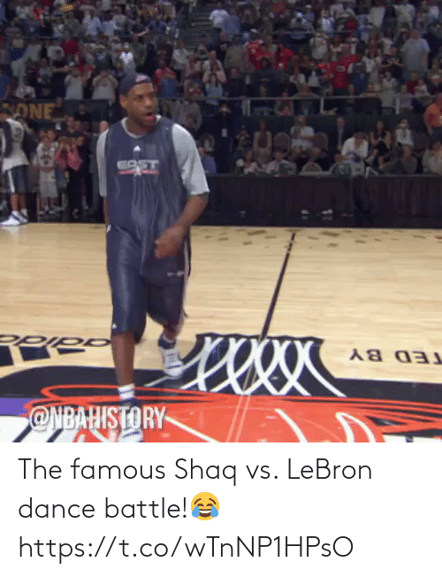 Lebron: The famous Shaq vs. LeBron dance battle!😂 https://t.co/wTnNP1HPsO