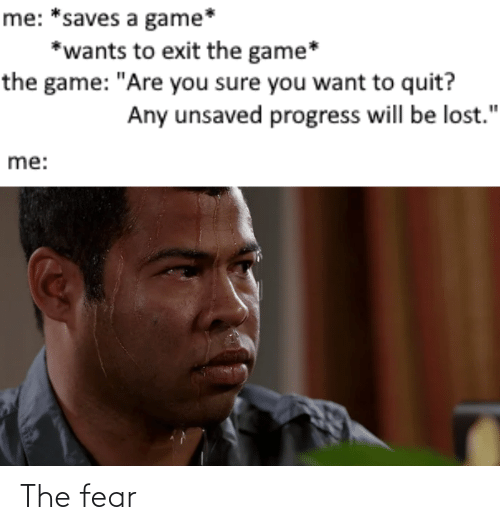 The: The fear