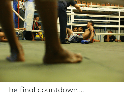 the final countdown: The final countdown...