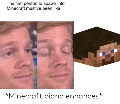 ✅ 25+ Best Memes About Minecraft Piano | Minecraft Piano Memes