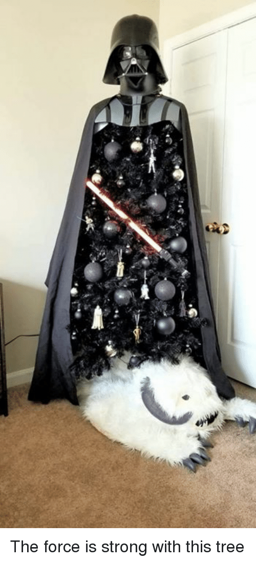 Dank, Tree, and Strong: The force is strong with this tree