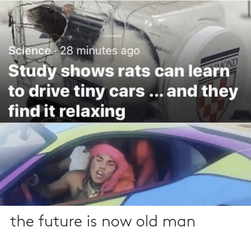 old man: the future is now old man