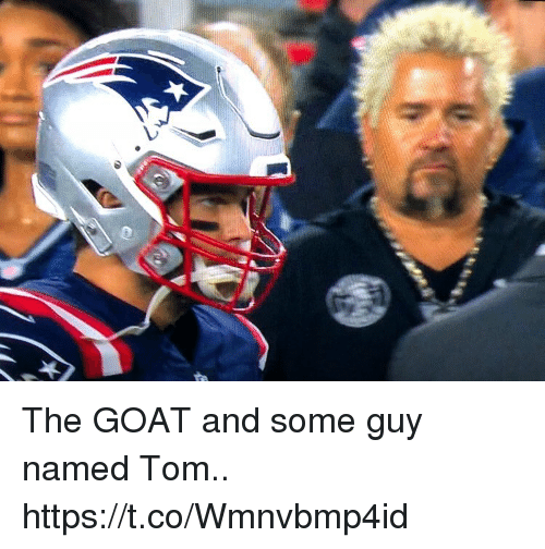 Football, Nfl, and Sports: The GOAT and some guy named Tom.. https://t.co/Wmnvbmp4id