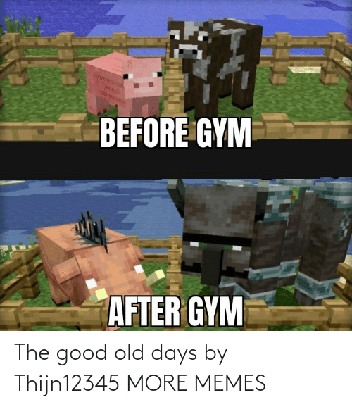 Good Old: The good old days by Thijn12345 MORE MEMES