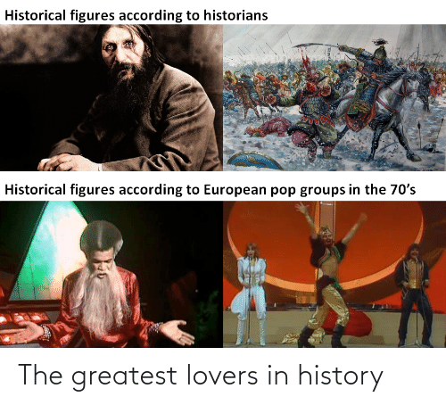 The Greatest: The greatest lovers in history