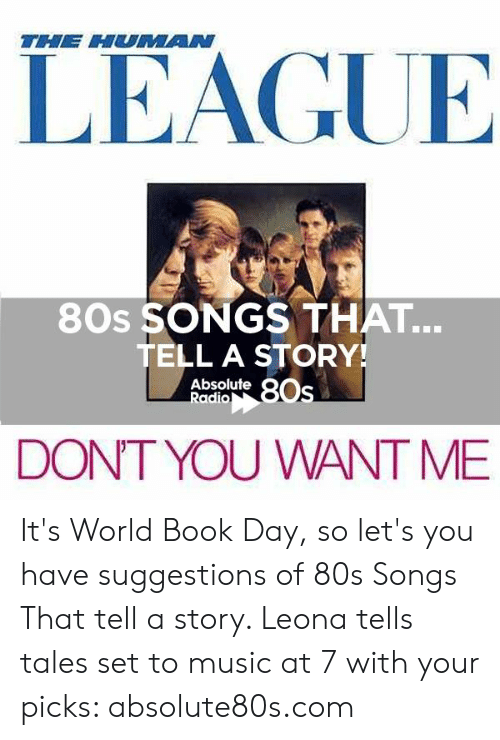 The HUAN LEAGUE 80s SONGS THAT TELL a STORY! Absolute OS Radio DONT
