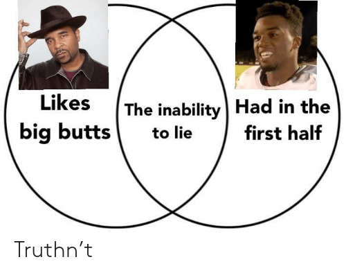 butts: The inability | Had in the  big butts to lie first half Truthn't