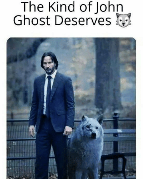 Game of Thrones, Ghost, and John: The Kind of John  Ghost Deserves