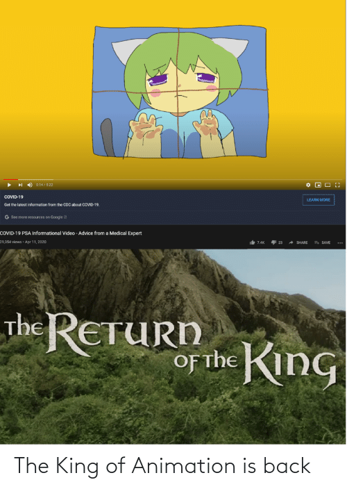 Animation: The King of Animation is back