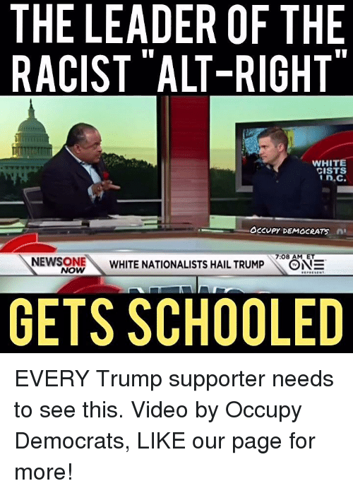 the leader of the racist alt right white cists in c 8922346 ✅ 25 best memes about alt right alt right memes,Alt Right Meme