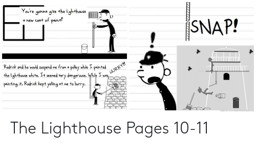 pages: The Lighthouse Pages 10-11