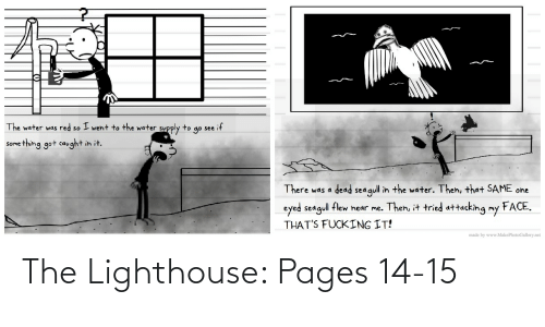 pages: The Lighthouse: Pages 14-15