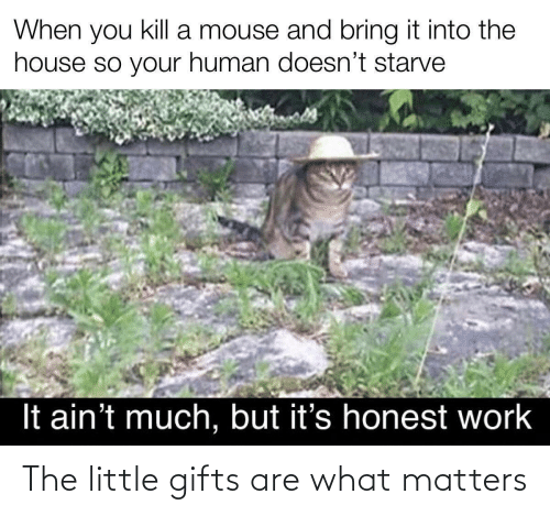 Matters: The little gifts are what matters