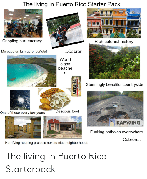 rico: The living in Puerto Rico Starterpack