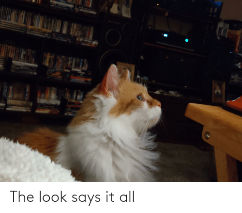 the look: The look says it all