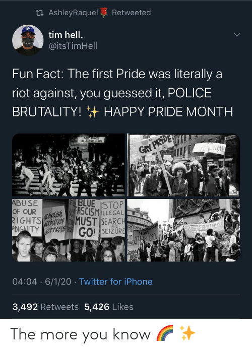 You Know: The more you know 🌈 ✨