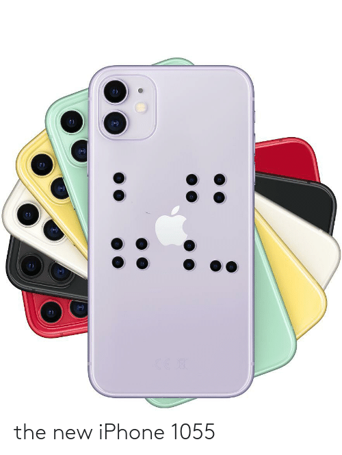 the new iphone: the new iPhone 1055