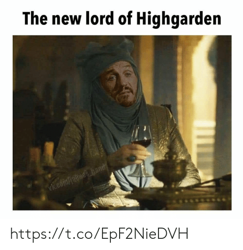 Memes, 🤖, and Lord: The new lord of Highgarden https://t.co/EpF2NieDVH