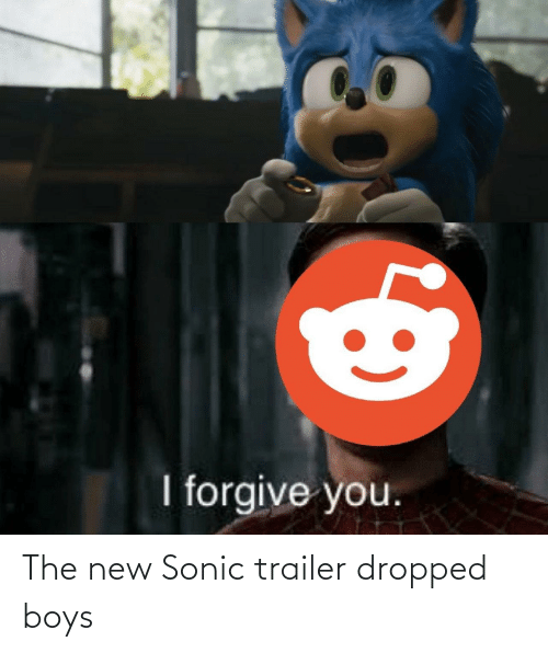 trailer: The new Sonic trailer dropped boys