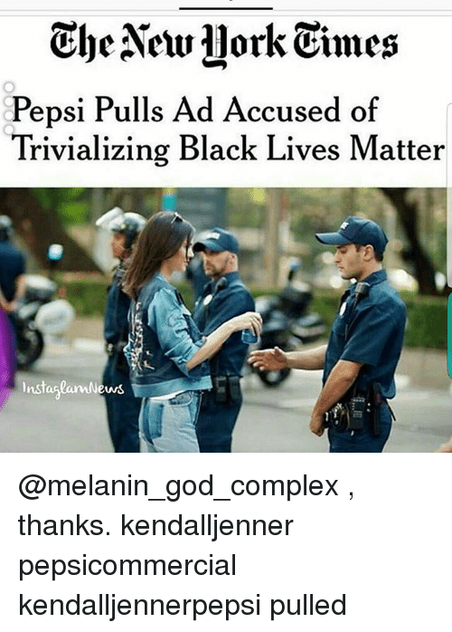 Pepsi has apologized for a controversial advertisement that borrowed imagery from the Black Lives Matter movement after a day of intense criticism from