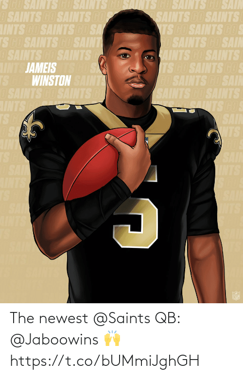 The Newest: The newest @Saints QB: @Jaboowins 🙌 https://t.co/bUMmiJghGH
