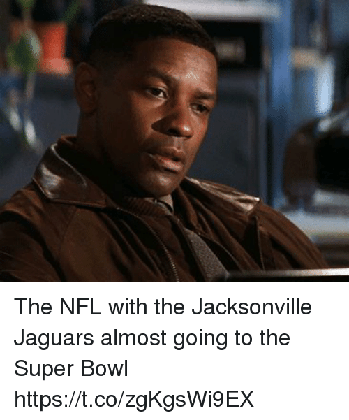 Football, Nfl, and Sports: The NFL with the Jacksonville Jaguars almost going to the Super Bowl https://t.co/zgKgsWi9EX
