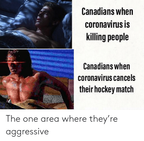 Where They: The one area where they're aggressive