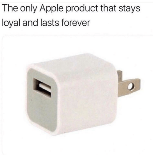 Apple, Forever, and Product: The only Apple product that stays  loyal and lasts forever