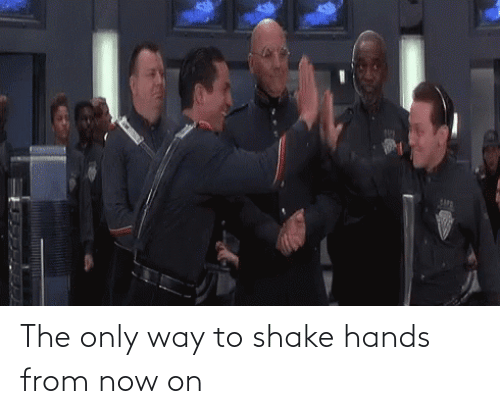 shake: The only way to shake hands from now on