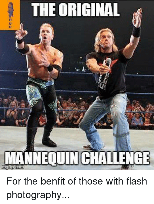 Mannequin Challenges: THE ORIGINAL  MANNEQUIN CHALLENGE For the benfit of those with flash photography...