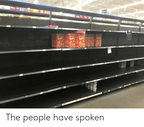 The People: The people have spoken