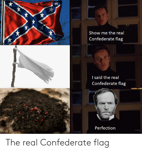 Confederate: The real Confederate flag