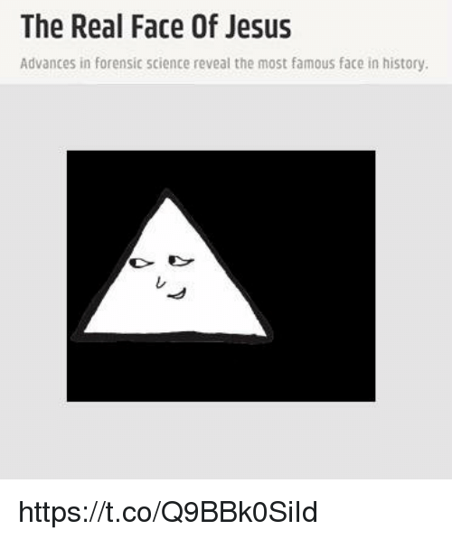 Jesus, History, and Science: The Real Face Of Jesus  Advances in forensic science reveal the most famous face in history  レ https://t.co/Q9BBk0SiId