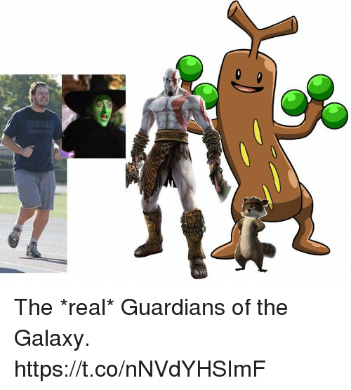 Guardians: The *real* Guardians of the Galaxy. https://t.co/nNVdYHSImF