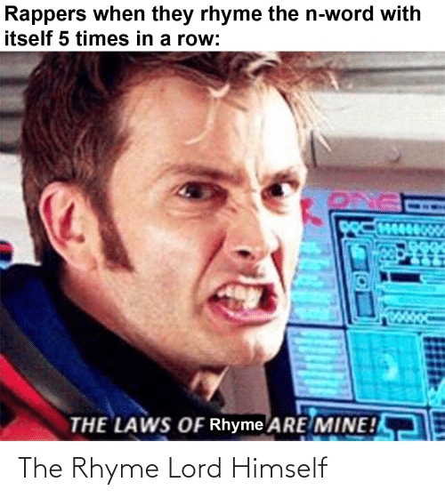 Doctor Who: The Rhyme Lord Himself