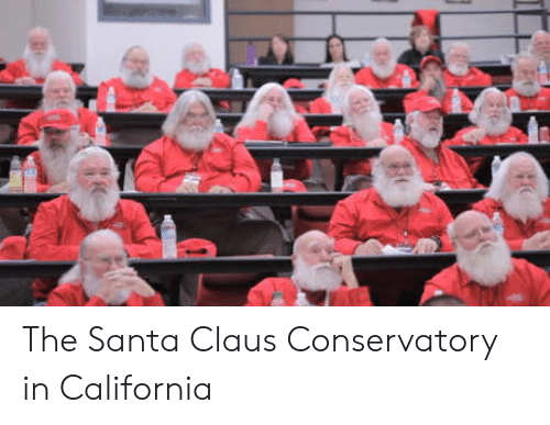 California: The Santa Claus Conservatory in California