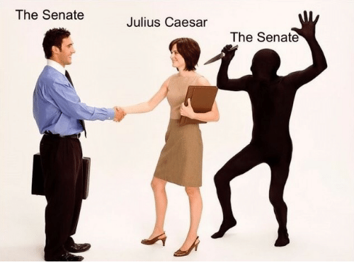 Julius Caesar, Senate, and Caesar: The Senate  Julius Caesar  The Senate