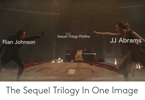 Image: The Sequel Trilogy In One Image