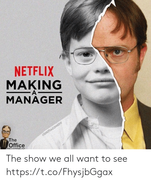want: The show we all want to see https://t.co/FhysjbGgax
